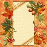 Jesieni tło Obraz Stock