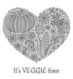 Jesieni tło z kreatywnie warzywami kwiatami i, dekoracyjny kwiecisty tło, kierowy kształt Obrazy Stock