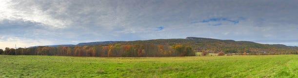 Jesieni ulistnienie w Shawangunk górze w Nowy Jork zdjęcie stock
