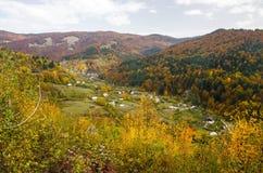 Jesieni wioska Obraz Royalty Free