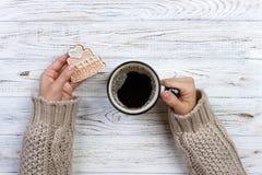 Jesieni zimy ciasta Weganinu jedzenie Zdrowych ciastek odgórny widok Fotografia Stock