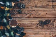Jesienna herbata Obrazy Royalty Free