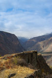 jesienna krajobrazowa góra Obraz Stock