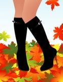 jesienna moda Zdjęcie Royalty Free