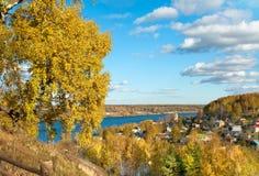 Jesienna natura, Ples Zdjęcia Royalty Free