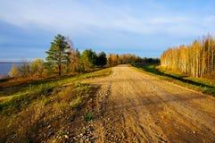 Jesienna sceneria Fotografia Royalty Free