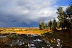 Jesienna sceneria Zdjęcie Stock