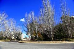 Jesienna sceneria Jeziorny Burley gryfa brzeg Zdjęcie Stock