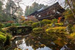 Jesienna sceneria Nikko park narodowy Fotografia Royalty Free