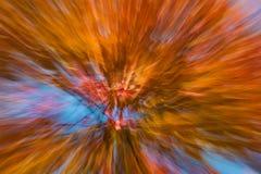 Jesienni fajerwerki Obrazy Royalty Free