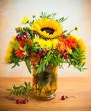 jesienni kwiaty Obraz Royalty Free