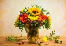 jesienni kwiaty Obrazy Stock