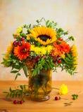 jesienni kwiaty Fotografia Royalty Free