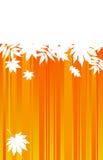 jesienni tła folwarczka liść Fotografia Stock