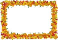jesienny dzień ramy dziękczynienia wektor ilustracji