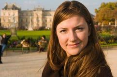 jesienny dzień sunny park Fotografia Royalty Free