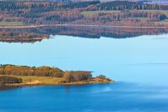 jesienny jezioro Obraz Stock