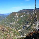 Jesienny krajobraz w Pyrenees Fotografia Stock