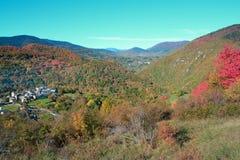 Jesienny krajobraz w Pyrenees Obrazy Royalty Free