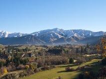 jesienny krajobrazowy nowy Zealand Obrazy Stock