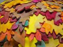 Jesienny Ślubny tort obrazy stock