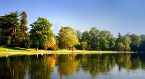 jesienny odbicia fotografia royalty free