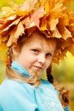 jesienny portret Zdjęcia Royalty Free