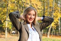 Jesienny portret Zdjęcia Stock
