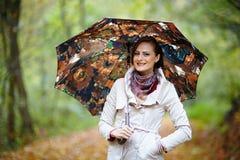jesienny portret Obrazy Stock