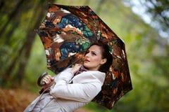 jesienny portret Obraz Stock