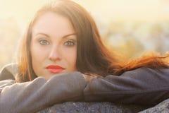 jesienny portret Zdjęcie Royalty Free