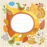 Jesienny temat ilustracja wektor