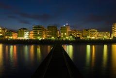 Jesolo海滩 免版税图库摄影