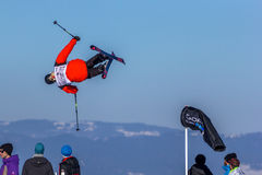 Jesper Ahlén, schwedischer Skifahrer lizenzfreie stockfotos