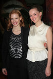 Jess Weixler, Jessica Chastain Royalty Free Stock Photography