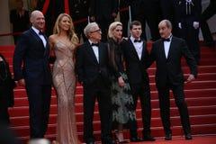 Jesse Adam Eisenberg, Kristen Stewart, Woody Allen Obraz Royalty Free