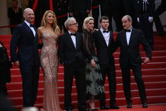 Jesse Adam Eisenberg, Kristen Stewart, Woody Allen Royalty Free Stock Image
