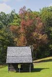 Jesse Brown kabina w Pólnocna Karolina zdjęcia stock