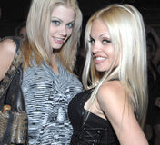 Jesse Jane & Riley Steele. Two major porn stars promoting their movie release of Pirates Royalty Free Stock Image