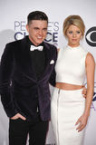 Jesse McCartney & Katie Peterson royalty free stock photo