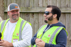 Jesse Mcclure and Todd Dewey at Truckfest Stock Photography
