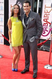 Jesse Metcalfe,Cara Santana Royalty Free Stock Photo