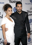 Jesse Metcalfe and Cara Santana Stock Images