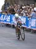 Jessenia Meneses, från Colombia. Championshi för UCI-vägvärld Arkivbild
