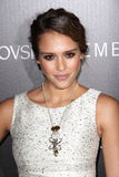Jessica Alba. At the Let It Sparkle Rodeo Drive Lighting Ceremony, Rodeo Drive, Beverly Hills, CA 11-21-11 Stock Images