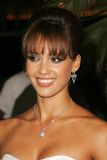 Jessica Alba. At the Premiere of 'Into The Blue'. Mann Village, Westwood, CA. 09-21-05 royalty free stock image