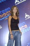 Jessica Alba. At the 2003 Teen Choice Awards in Hollywood. Aug 2, 2003  Paul Smith / Featureflash Royalty Free Stock Images