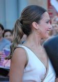 Jessica Alba al Giffoni Film Festival 2012 royaltyfria foton