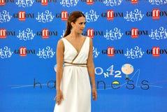 Jessica Alba al Giffoni Film Festival 2012 fotografering för bildbyråer