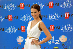 Jessica Alba al Giffoni Film Festival 2012 Royalty Free Stock Images